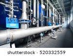 large industrial water... | Shutterstock . vector #520332559
