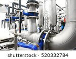 large industrial water... | Shutterstock . vector #520332784