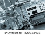 physical chemistry laboratory... | Shutterstock . vector #520333438