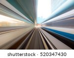 speed motion in urban highway... | Shutterstock . vector #520347430