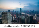 skyline and landscape of... | Shutterstock . vector #520351159
