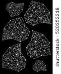 crystals. | Shutterstock .eps vector #520352218