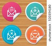 round stickers or website... | Shutterstock .eps vector #520354180