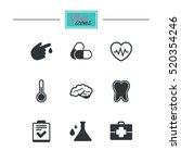 medicine  healthcare and... | Shutterstock .eps vector #520354246