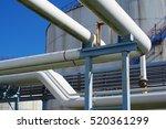 pipeline construction | Shutterstock . vector #520361299