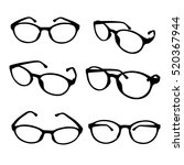Glasses Icon. Simple...