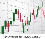stock trading | Shutterstock . vector #520382560