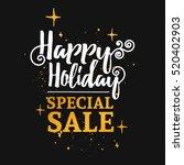 template design banner for... | Shutterstock .eps vector #520402903