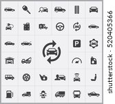 auto icons universal set for... | Shutterstock .eps vector #520405366