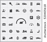 auto icons universal set for... | Shutterstock .eps vector #520405618