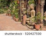Stone Buddha Statue In The...
