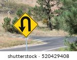 Small photo of Sharp Turn Sign