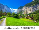 Famous Lauterbrunnen Valley...