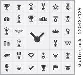 award icons universal set for...   Shutterstock .eps vector #520437139