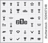 award icons universal set for...   Shutterstock .eps vector #520437148