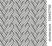 seamless stripe pattern.... | Shutterstock .eps vector #520437700