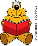 cat reading | Shutterstock . vector #52044421