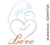 parenting logo template vector | Shutterstock .eps vector #520444720