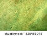 great green watercolor... | Shutterstock . vector #520459078