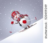 3d render  digital illustration ... | Shutterstock . vector #520459249