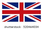 classic british flag. flag of... | Shutterstock .eps vector #520464034