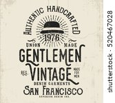 vintage vector design with... | Shutterstock .eps vector #520467028
