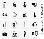 home medical equipment | Shutterstock .eps vector #520469854