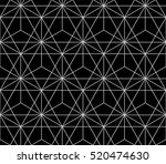 abstract geometric pattern with ... | Shutterstock .eps vector #520474630