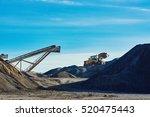 industrial landscape.... | Shutterstock . vector #520475443
