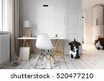 3d rendering of apartment... | Shutterstock . vector #520477210