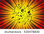 sun rays or explosion boom for... | Shutterstock .eps vector #520478830