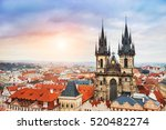 Panoramic View Of Old Town...