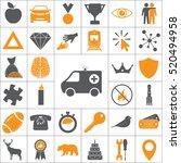 ambulance icon | Shutterstock .eps vector #520494958