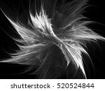 digital abstract fractal... | Shutterstock . vector #520524844