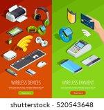 modern wireless technology... | Shutterstock .eps vector #520543648