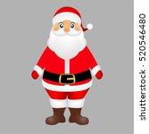 santa claus | Shutterstock .eps vector #520546480
