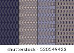 collection of simple geometric... | Shutterstock .eps vector #520549423