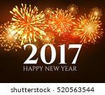 2017 new year background banner ... | Shutterstock .eps vector #520563544