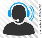 operator signal vector... | Shutterstock .eps vector #520606030