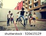 people friendship togetherness... | Shutterstock . vector #520615129