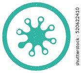 axenic grainy textured icon...   Shutterstock .eps vector #520622410