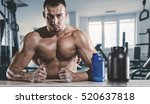 sport and fitness.  healthy...   Shutterstock . vector #520637818