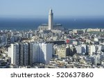 city panorama. casablanca ... | Shutterstock . vector #520637860