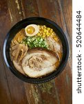 Small photo of Asian noodle/ramen/mi so ra-men