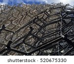 the hive  kew gardens  london ... | Shutterstock . vector #520675330