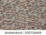 stone brick wall pattern...   Shutterstock . vector #520716469
