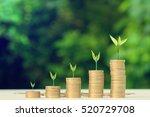 business finance and money...   Shutterstock . vector #520729708