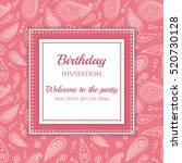 Invitation Or Card Template....