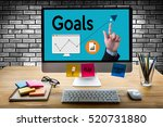 goals increase quality success  ... | Shutterstock . vector #520731880