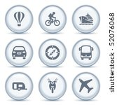 gray button with icon 20 | Shutterstock .eps vector #52076068